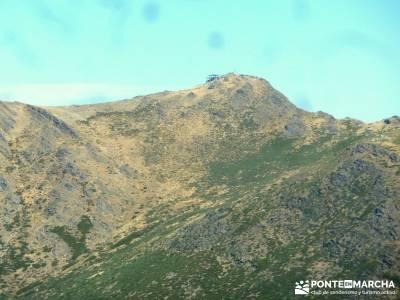 Pico Santuy; El Cerrón; sierra de madrid tiempo guia senderismo ruta en madrid